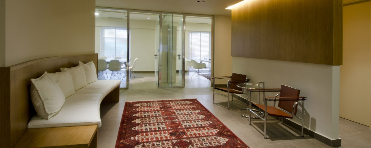 Waiting Area in the Lawyer Notary Office